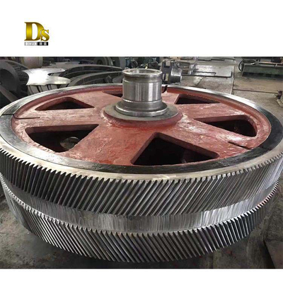 Casting Carbon Steel Crusher Parts Mill Parts Big Gear