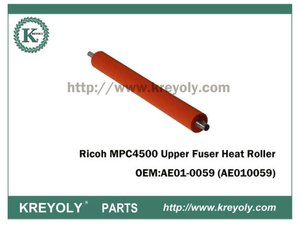 Cost-Saving Ricoh MPC4500 AE01-0059 Upper Fuser Heat Roller
