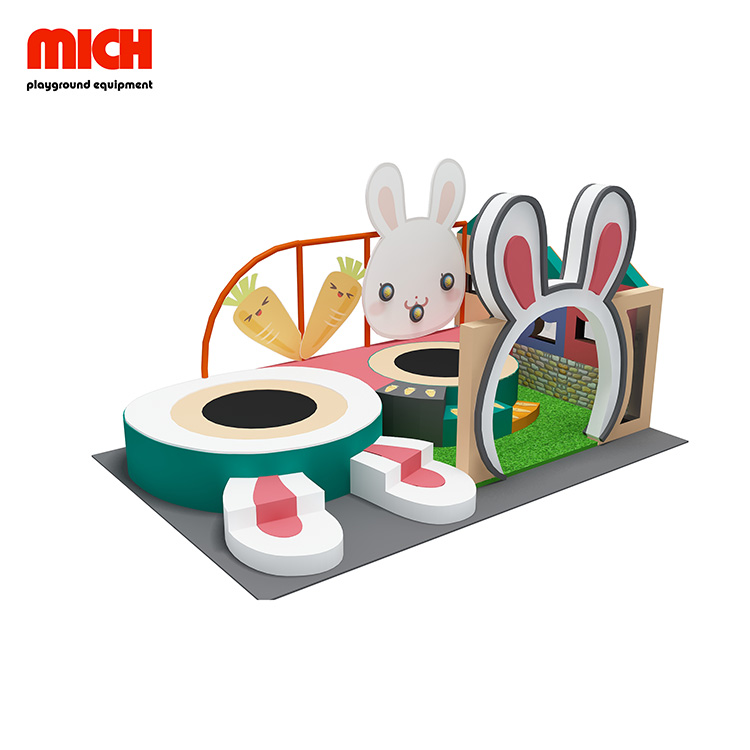 Mini Kids Rabbit Style Soft Indoor Playground en venta