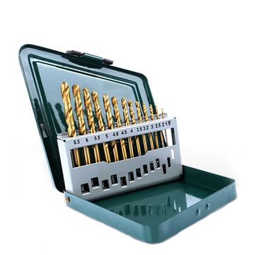 13 STÜCK TWIST DRILL SET (2)