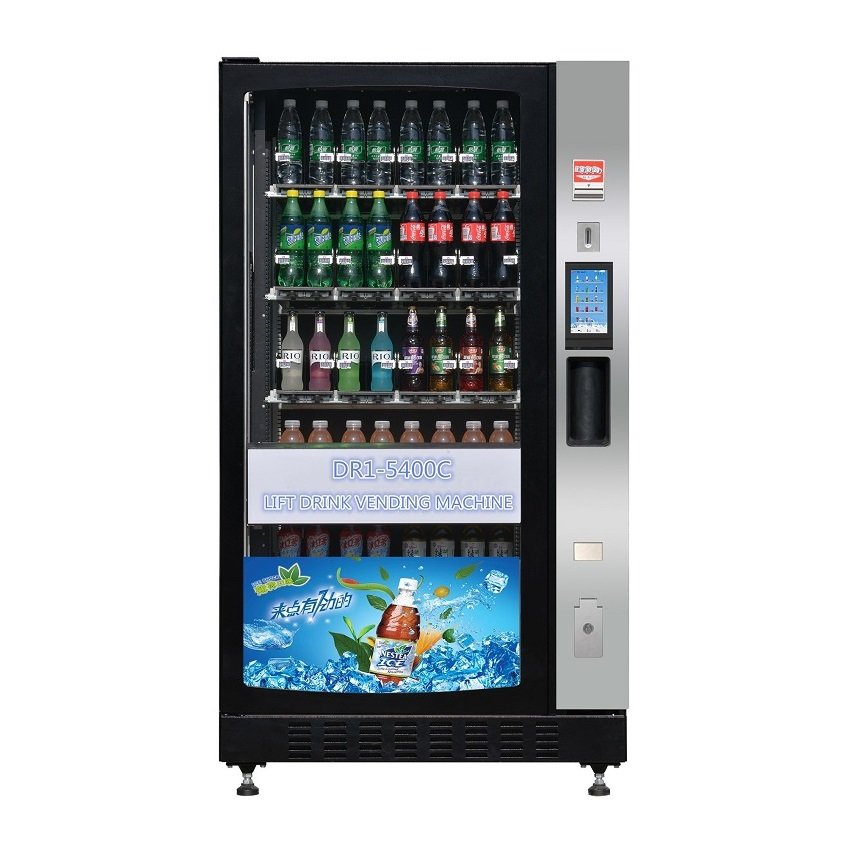 Lift Drink Vending Machine with Touch Screen (DR1-5400C)