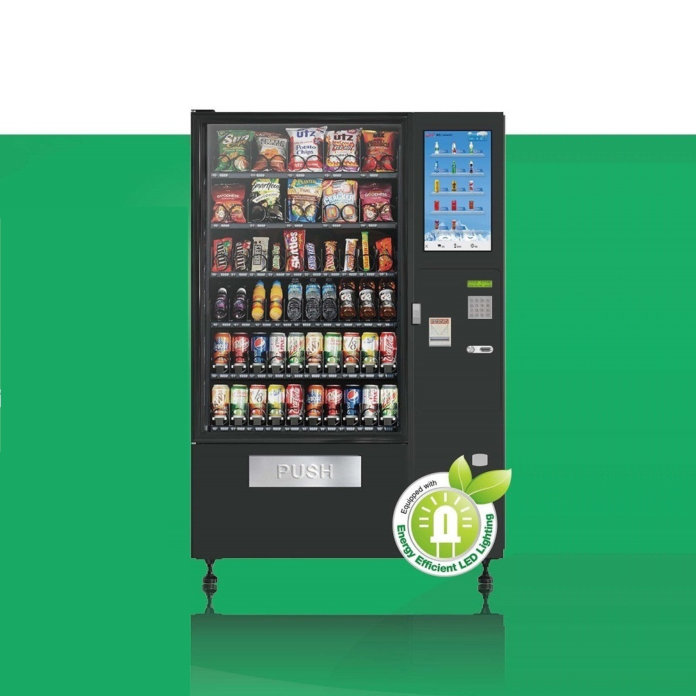 CV-5000C-B Combo Vending Machine with 21.5' Touch Screen
