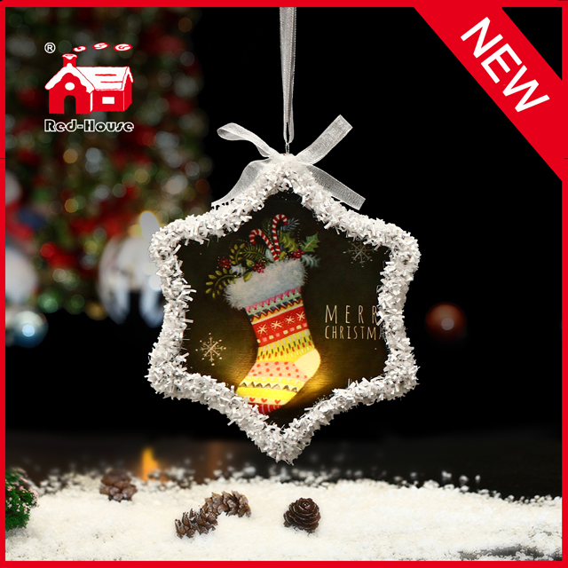 Manufacturer Hot Sale Christmas Hanging Ornament Snowflake