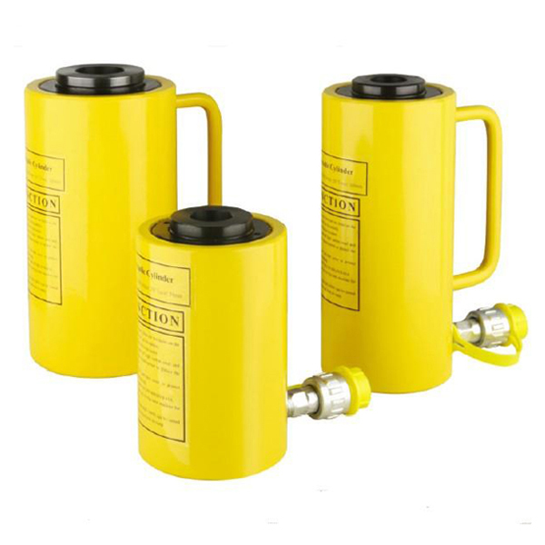 Single Action Hydraulic Hollow Plunger Cylinder RCH Series with Mid-empty Designed And Wide Apply