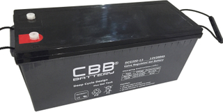 CBB® DCG200-12 Deep Cycle Gel Battery