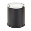 Waste can with rubber base for office use