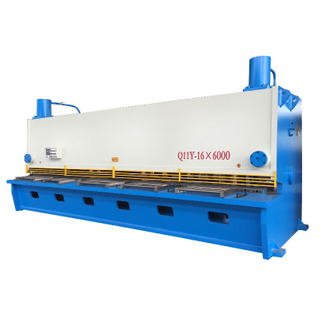 QC11Y-16X6000 Hydraulic Guillotine Shearing Machine