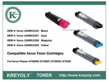 Compatible Xerox Phaser 6700DN Toner