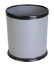 Plastic Waste Bin for room with Leather Coated KL-36