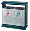 Street receptacles collection with iron coated HW-57