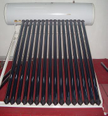 Pressurized Solar Water Heater with Rust-Proof Coating