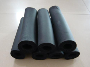 Black Rubber NBR insulation tube A/C hose used for refrigeration parts