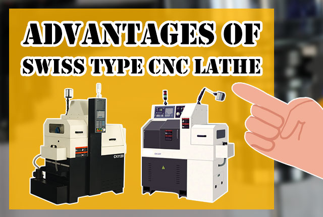 Three Advantages of Swiss Type CNC Lathe Machine