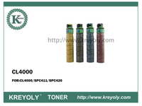 Compatible Good Quality Ricoh CLC4000 Color Toner Cartridge for CLC4000/SPC411/SPC420