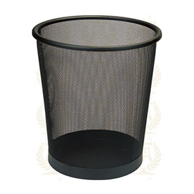 Iron coated waste bin for home use KL-56