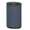 Classified waste bin for shopping mall HW-506A