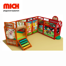 Farm Theme Indoor Soft Mobile Playground per bambini