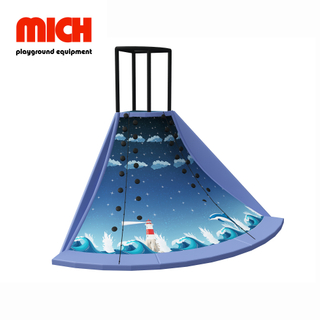 Indoor Volcano Slide Playground Facility for Kids