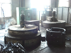 heat treatment forging factory