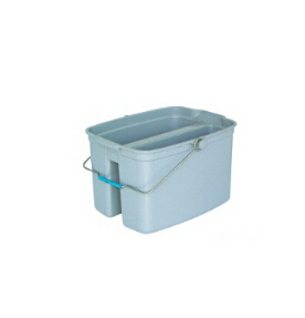 Plastic Double Mop Bucket for Mop Cleaning (YG-86)