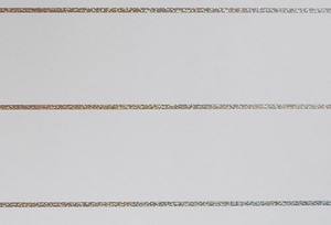 PLM2101-AL Laser Wide Horizontal Strips (White Backing)
