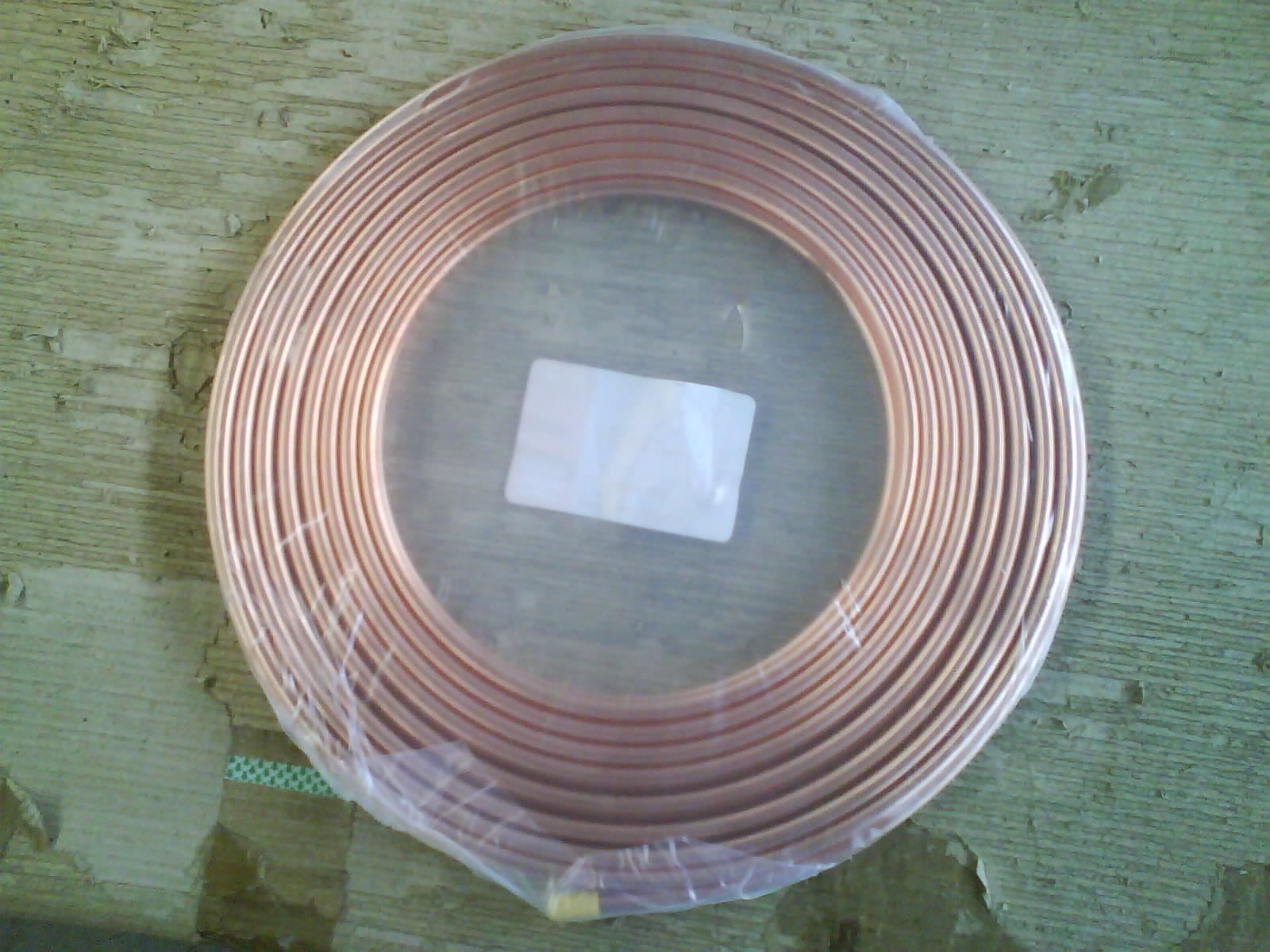 Tubo di rame della bobina del pancake acquista tubo di for Miglior isolamento del tubo di rame