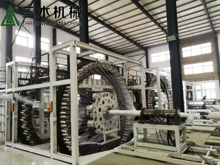 BWFRP Braiding Machine For Fiberglass Cable Conduit