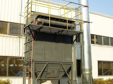 Metal Recycle Smelt Furnace Bag Filter Dust Collector