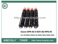 Cartucho de tóner a color compatible GPR-30 / NPG-45 / C-EXV 28