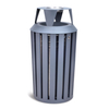 Smokeless outdoor waste can for European market HW-532