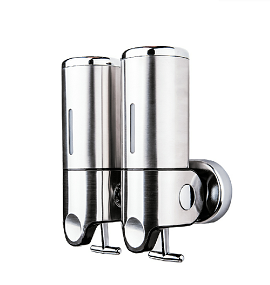 Stainless Steel Doube-Hole Liquid Soap Dispenser (SD-302A)