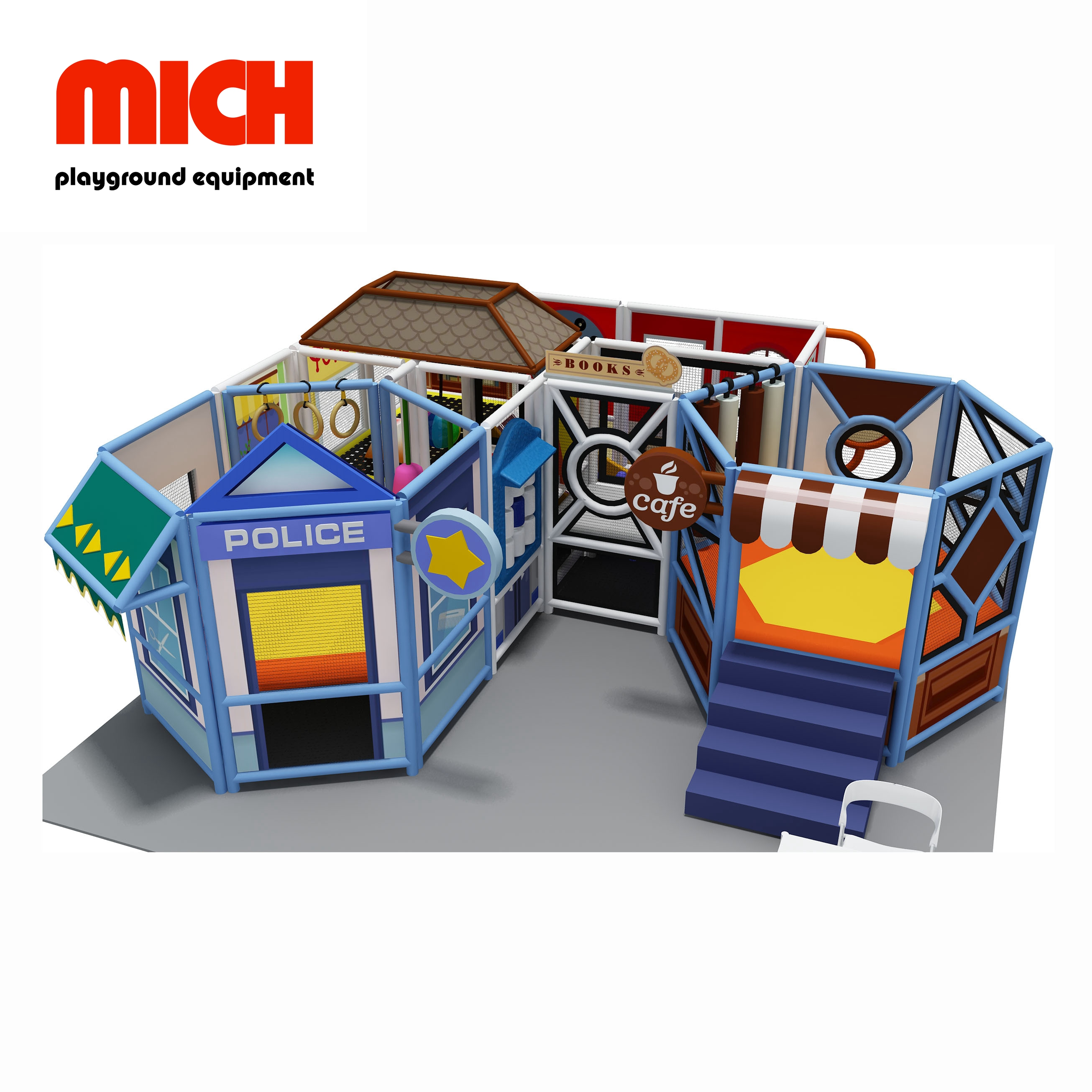 MICH Safe For Indoor Soft Mobile Playground for Kids
