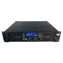 D10Q 4CH Sound Audio DSP digital Amplificador de potencia con Ethernet