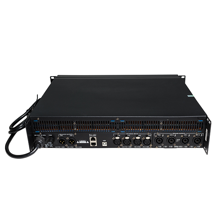 DSP-10KQ 4 canales digital profesional DSP Power Amplifieir