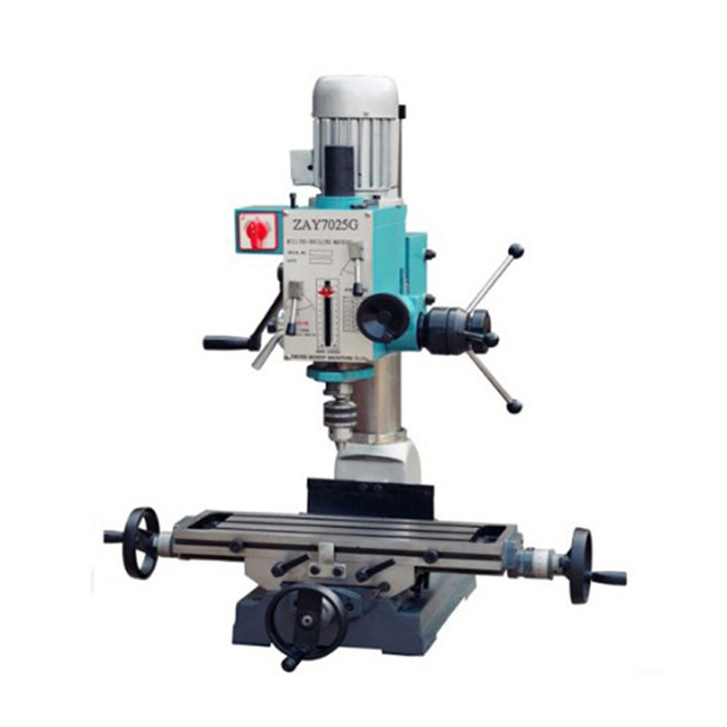 ZAY7025G Factory Promotion Sale Small Size Home Use Bench Type Drilling And Milling Machine with CE
