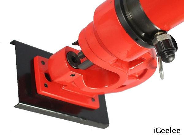Manual Hydraulic Hole Puncher ZCH-60 Can Work Independently