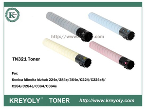 TN321 TONER FOR Bizhub C224/C284/C364/C360/C220/C280