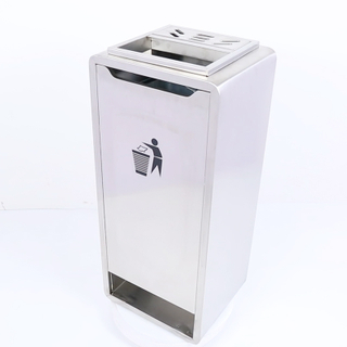 Stainless Steel Trash Bin From China Manufactory (YH-407)