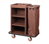 One Clothbag with Iron Coated Guestroom Service Trolley (FW-03)
