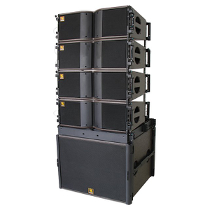 KARA & SB18 Dual 8 '' Two Way Bi-Amped Line Array System