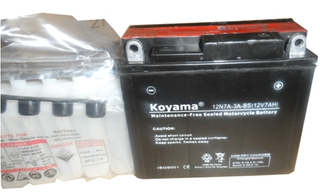 Maintenance Free Motorycle Battery
