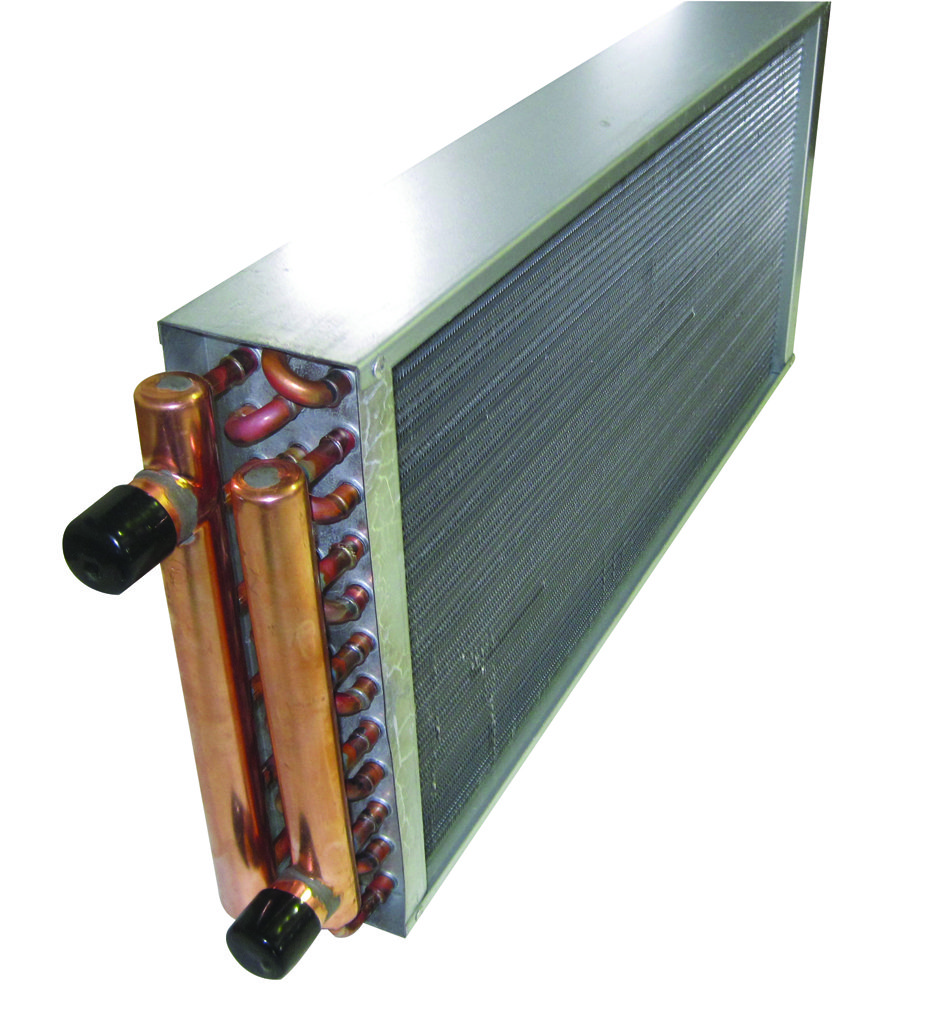 Water To Air Copper Heat Exchanger For Freezer