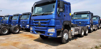 40 units HOWO tractor truck & 40 units tipping trailer export to Tanzania
