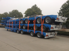 3 Axles 4 Axles Stretchable Lowbed Semi Trailer for Australia