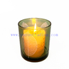 new arrival 3 colors laser engraving glass candle bowls
