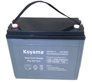 12V135AH Deep Cycle Gel Battery DCG135-12 for electric vehicle