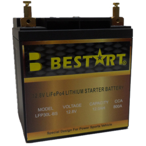 12.8V 12ah LiFePO4 Lithium Starter Battery Motorcycle Battery LFP30L-BS