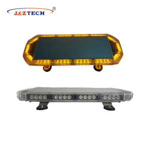 New type of amber strobe police lights
