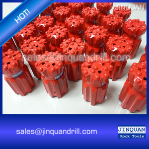 Threaded button bit T38 76mm