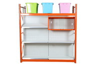 Integrated Gondola Shelving Retail store shelf